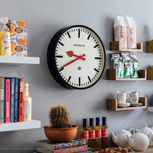 Putney Clock Black