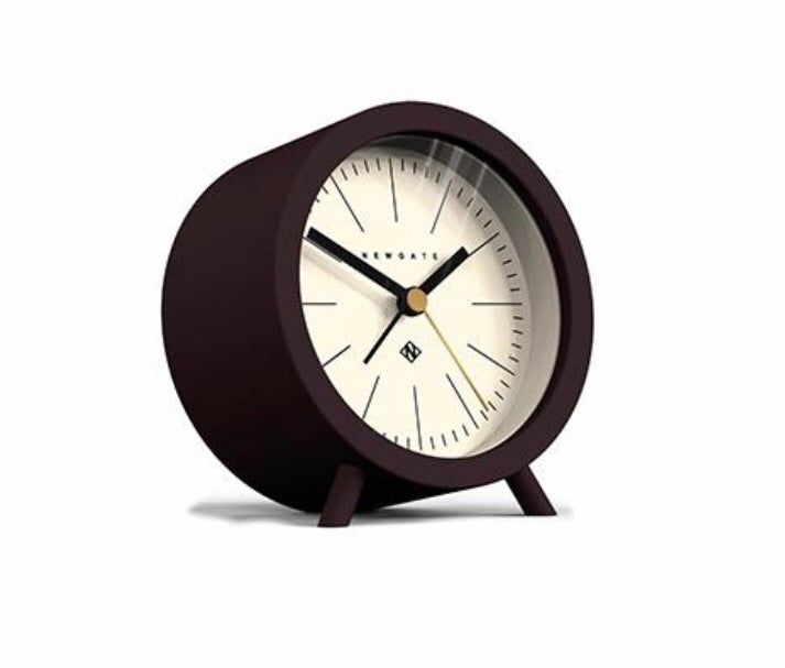 Fred Alarm Clock Chocolate Black