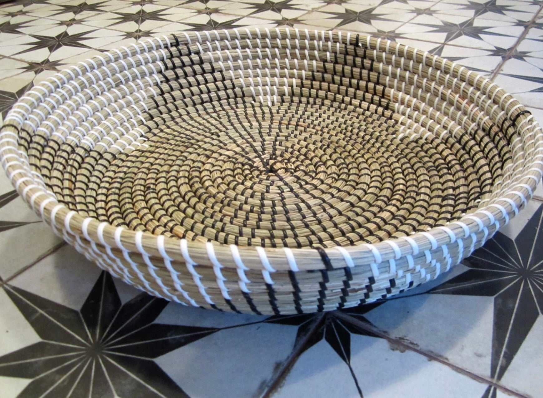 Star seagrass large bowl