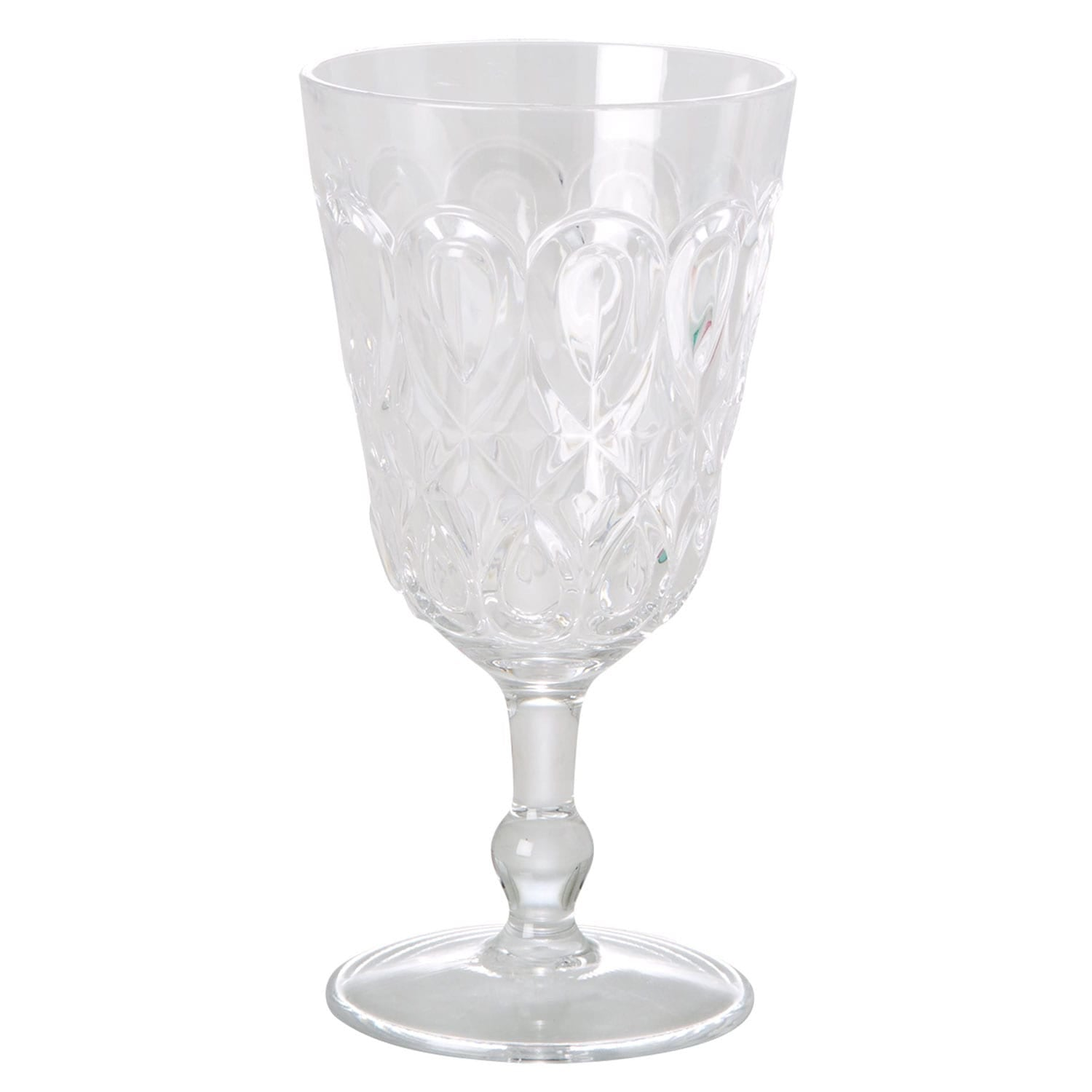 Clear Acrylic Wine glass