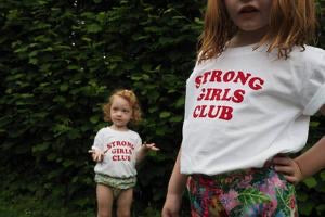 KIds Strong Girls Club t shirt