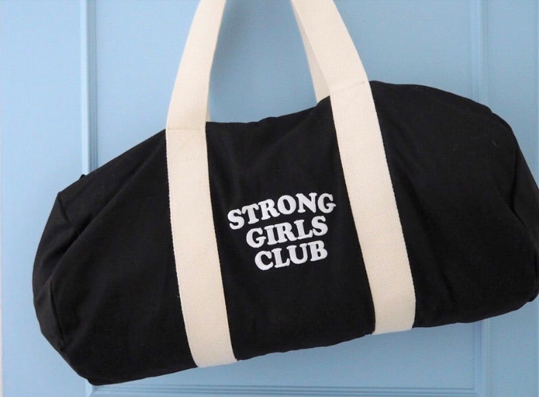 Strong Girls Club weekend bag