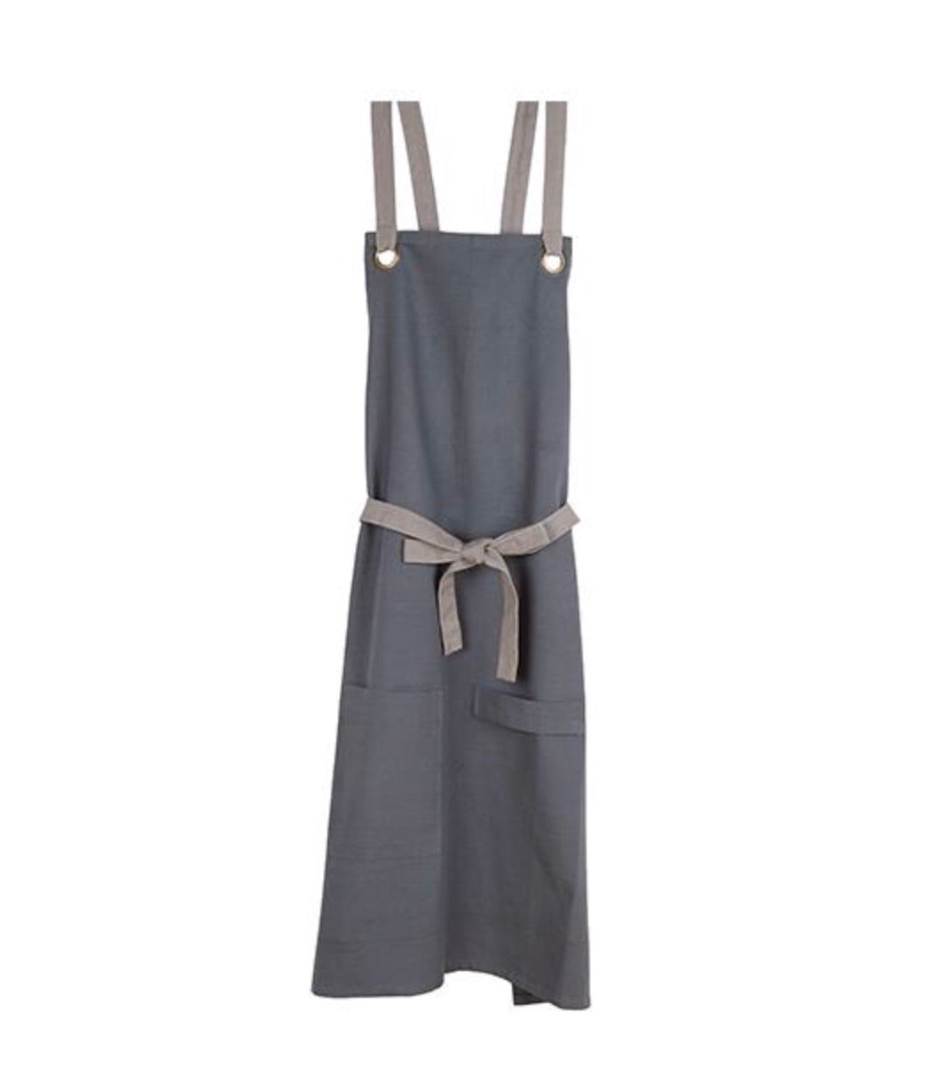 Barista apron in grey