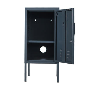 Shorty locker in slate - right hand