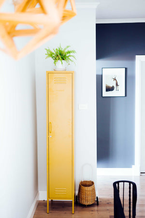 Skinny locker in mustard