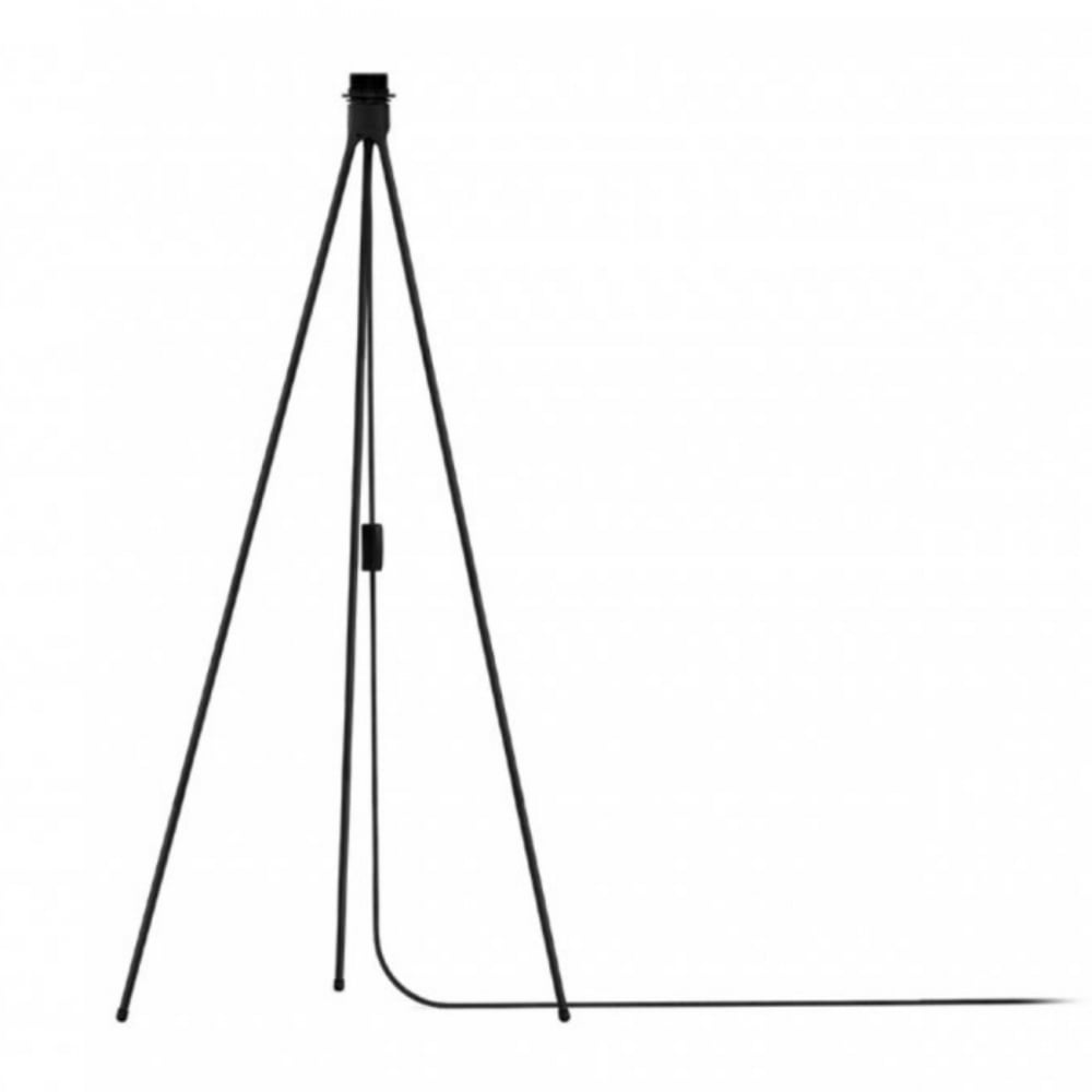VIta Tripod floor stand in black
