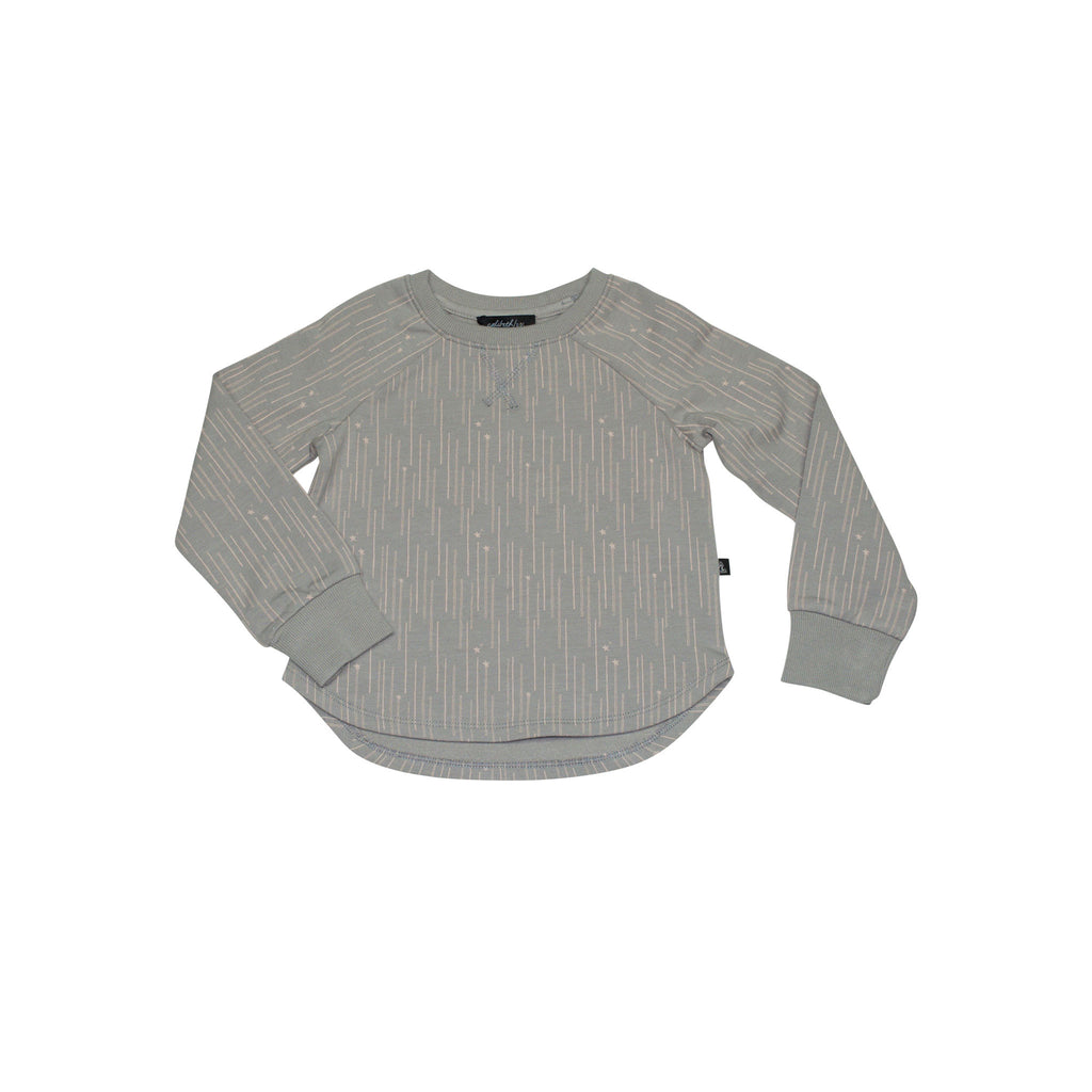 Raglan Sweatshirt - Grey
