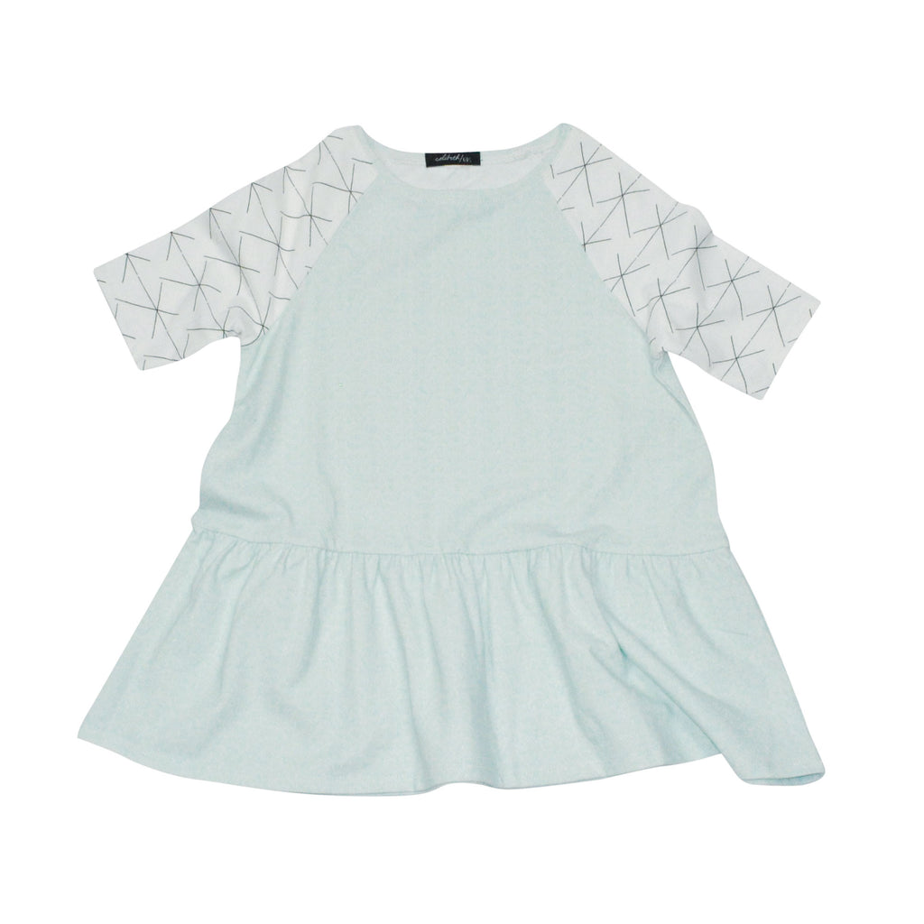 Peplum Dress - Mint
