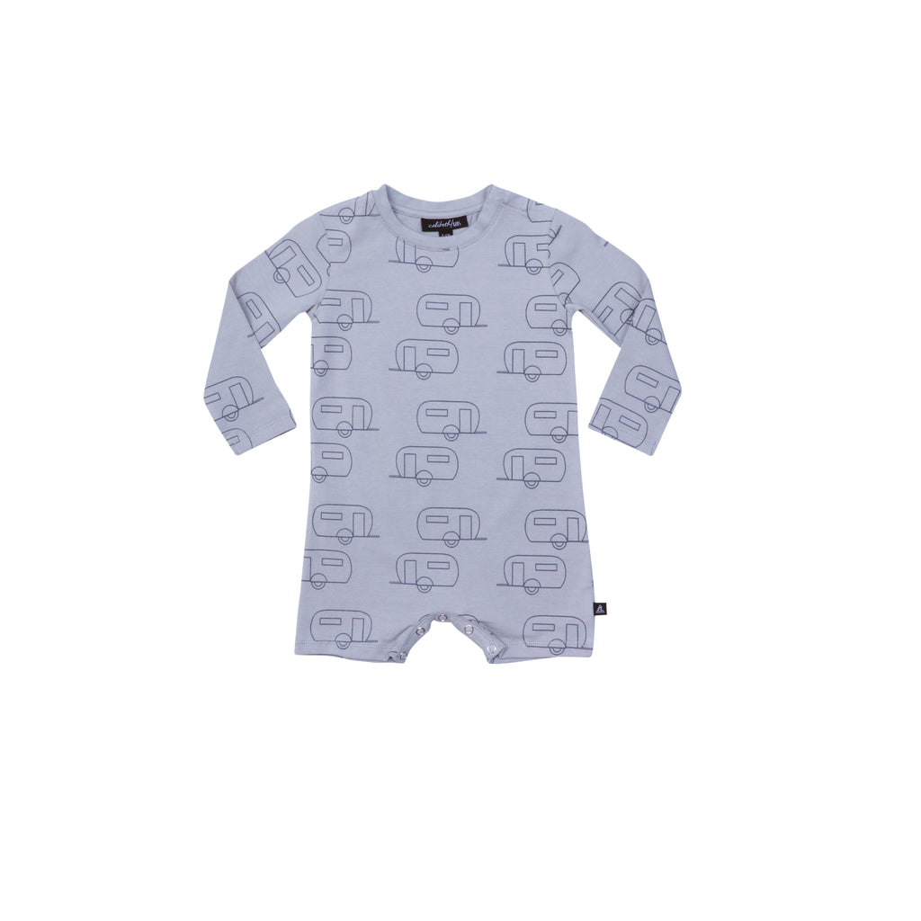 Long Sleeve Onesie - Airstream