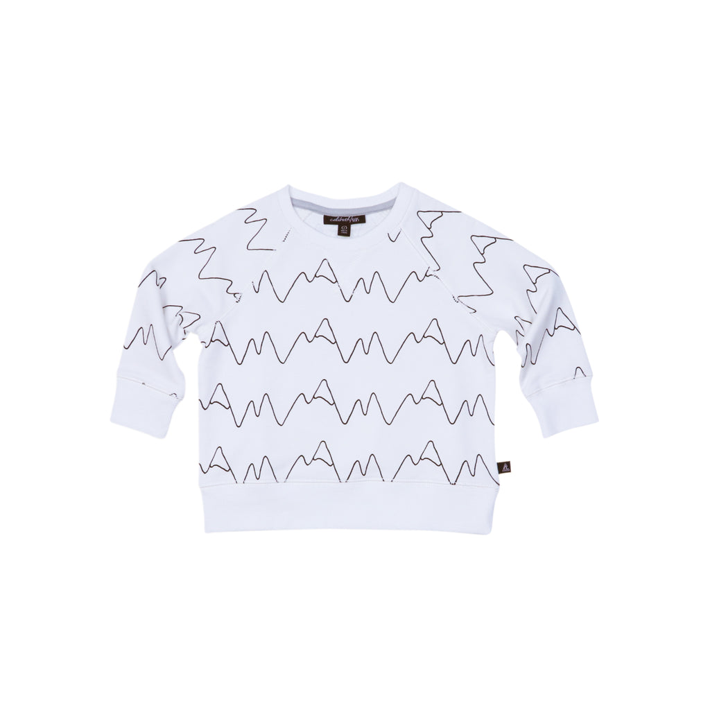 Raglan Sweatshirt - Mountain