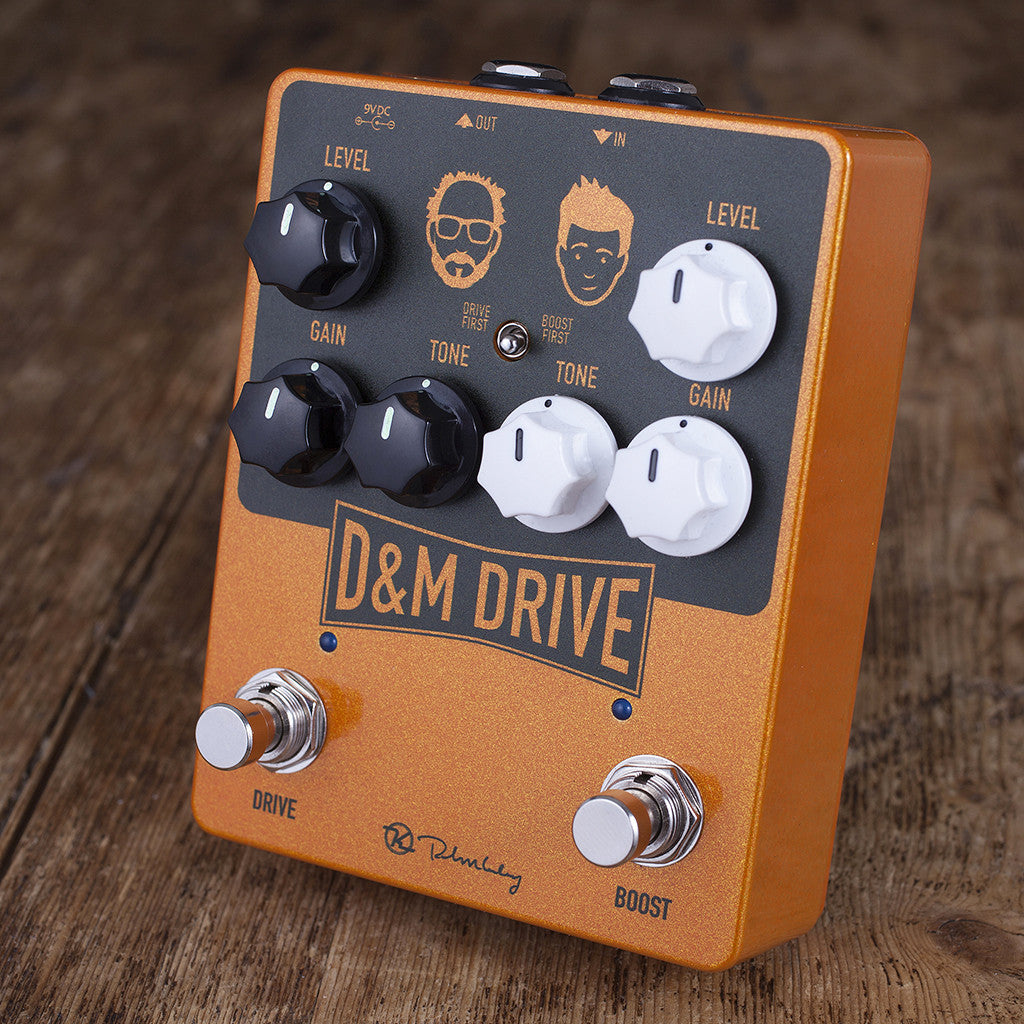 D&M Drive - Dual Overdrive Guitar Pedal