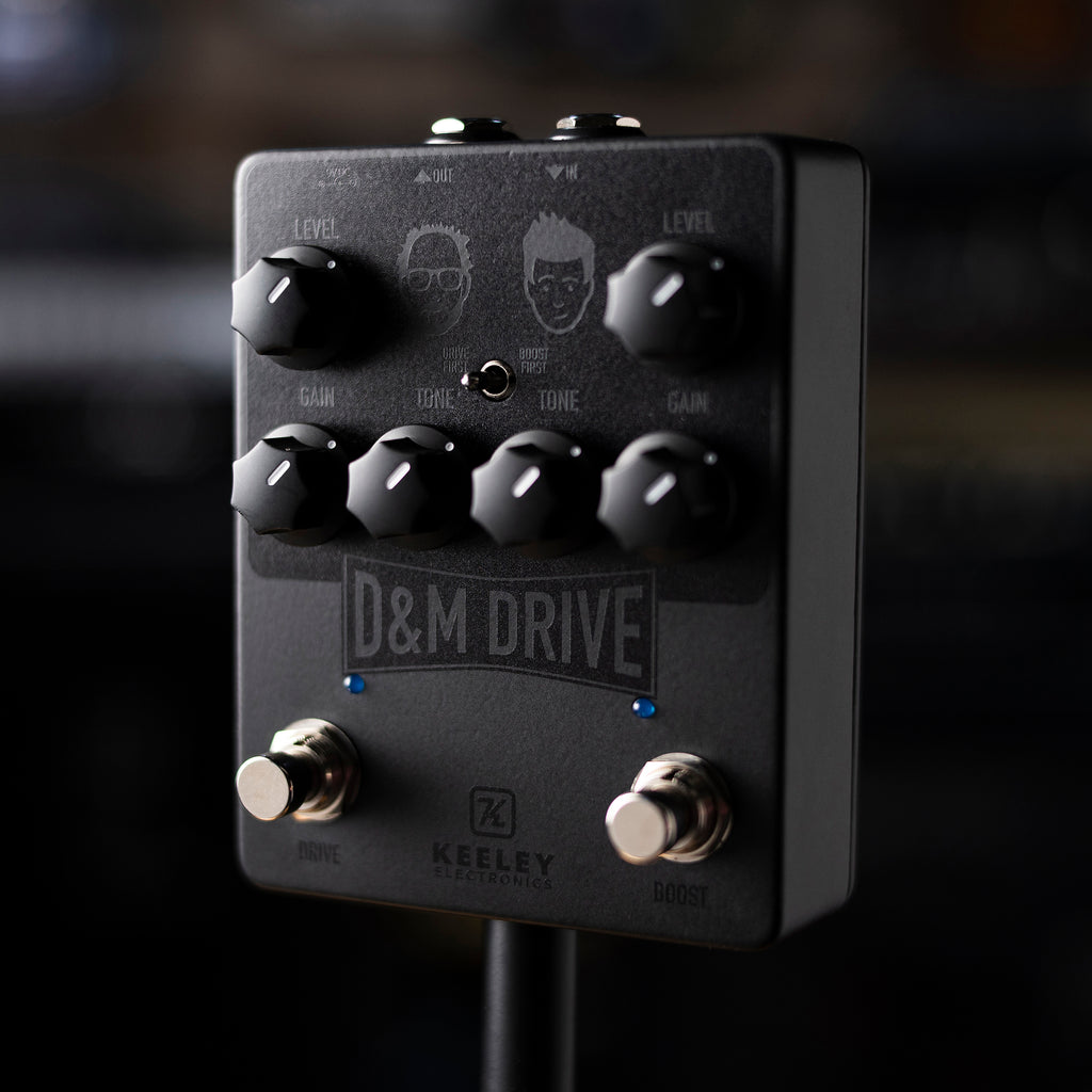 D&M Drive - 'Stealth' Custom Limited Edition Pedal