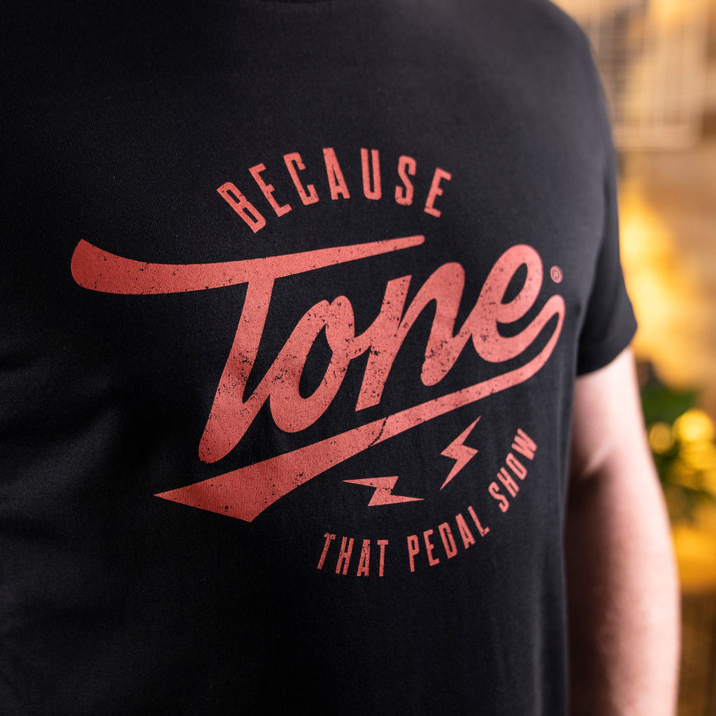 Because Tone® Relic Special Edition T-Shirt - Black/Dirty Red