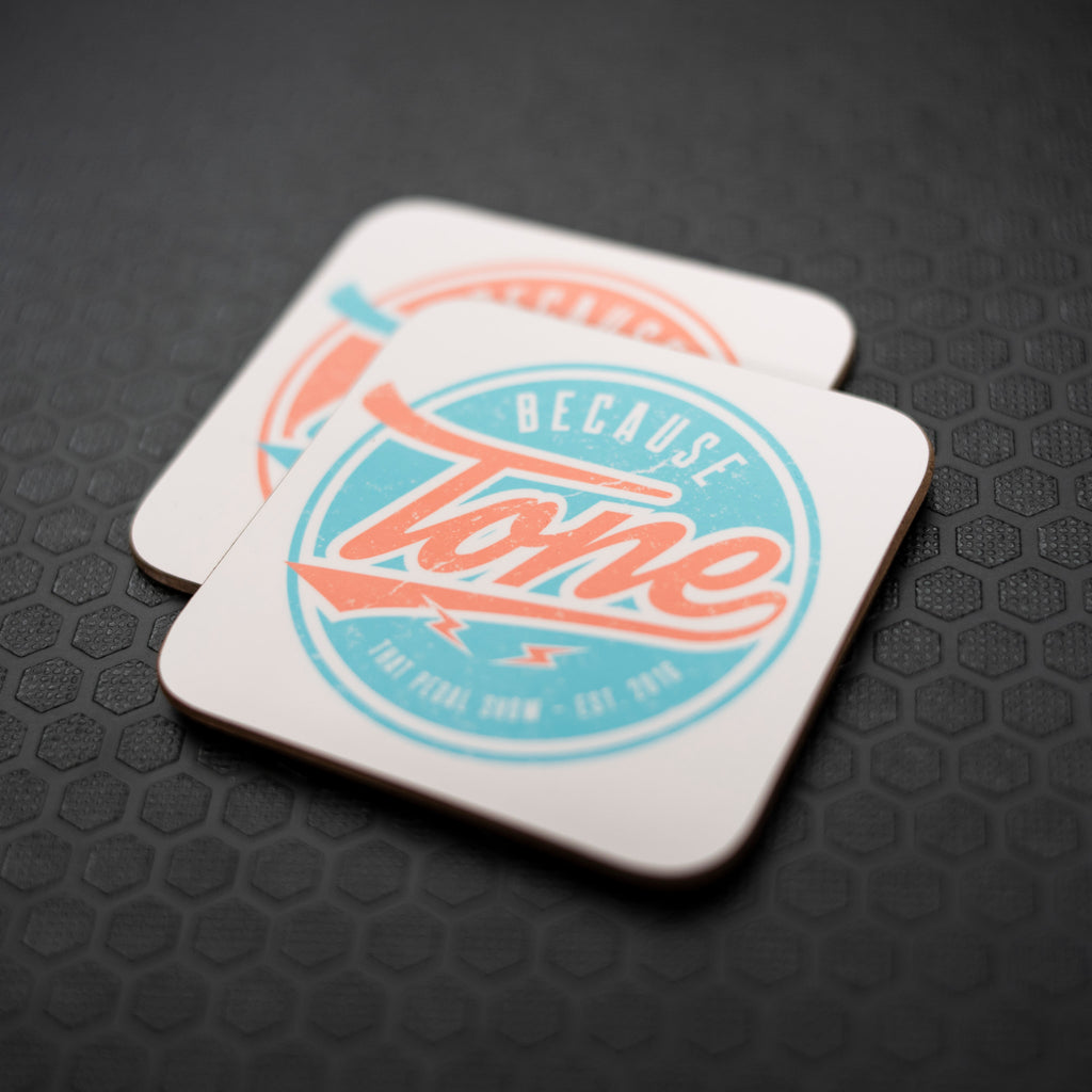 Because Tone® Coasters - Two Pack