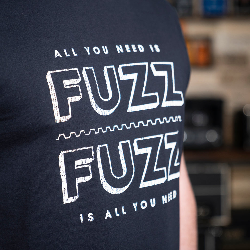 'All You Need is Fuzz' Reloaded T-Shirt - Navy/White