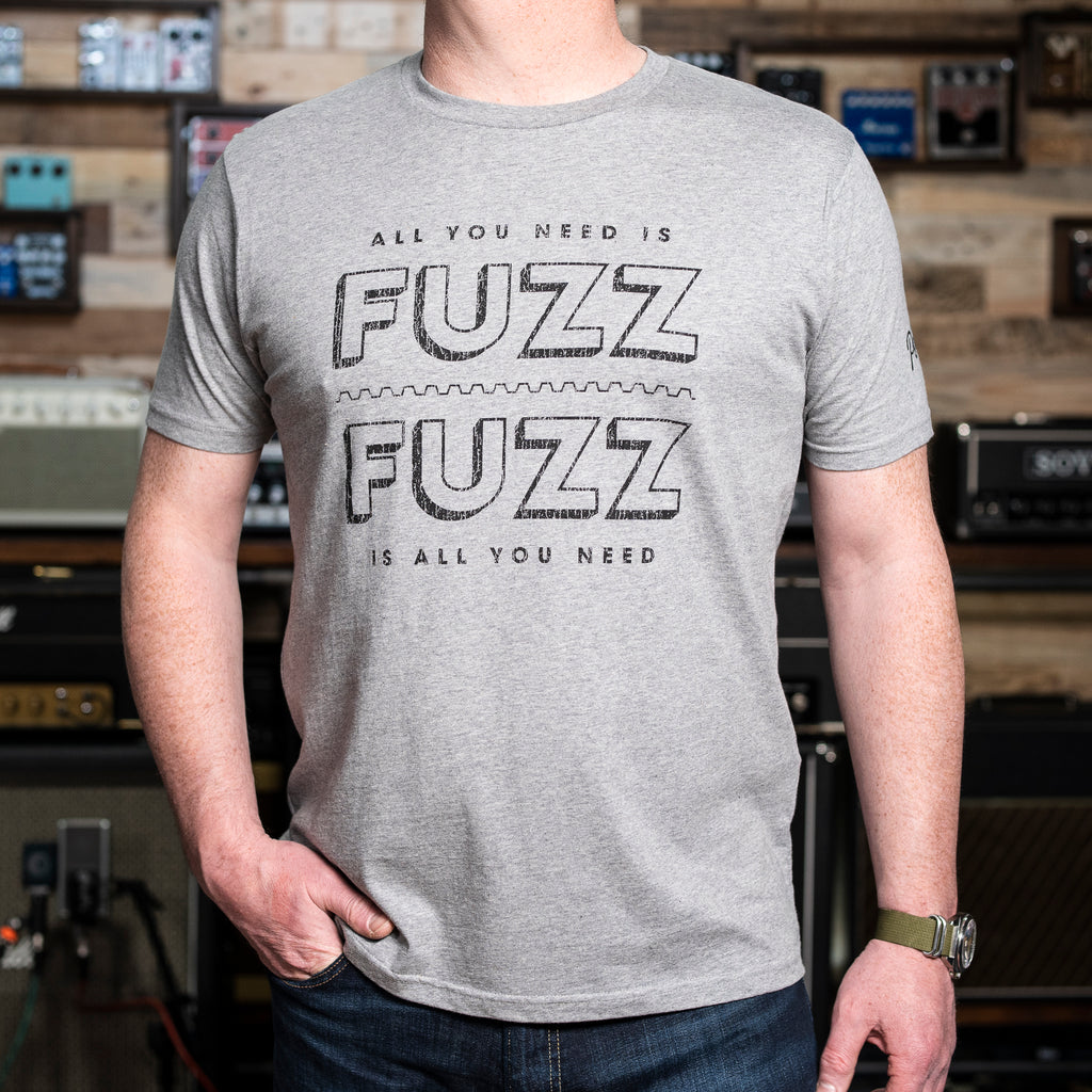 'All You Need is Fuzz' Reloaded - Melange Grey/Black - New for 2020!