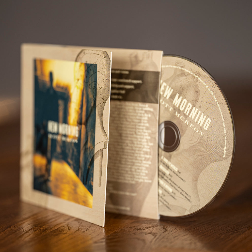 PRE-ORDER - CD - 'New Morning' by Scott McKeon