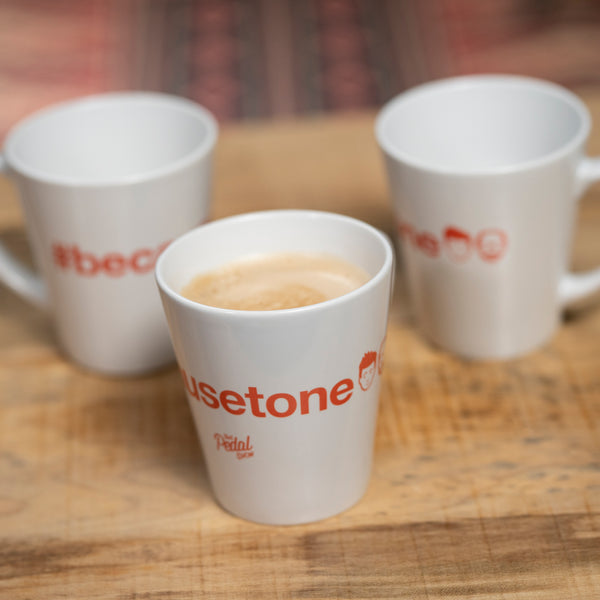 That Pedal Show #becausetone Latte Mug