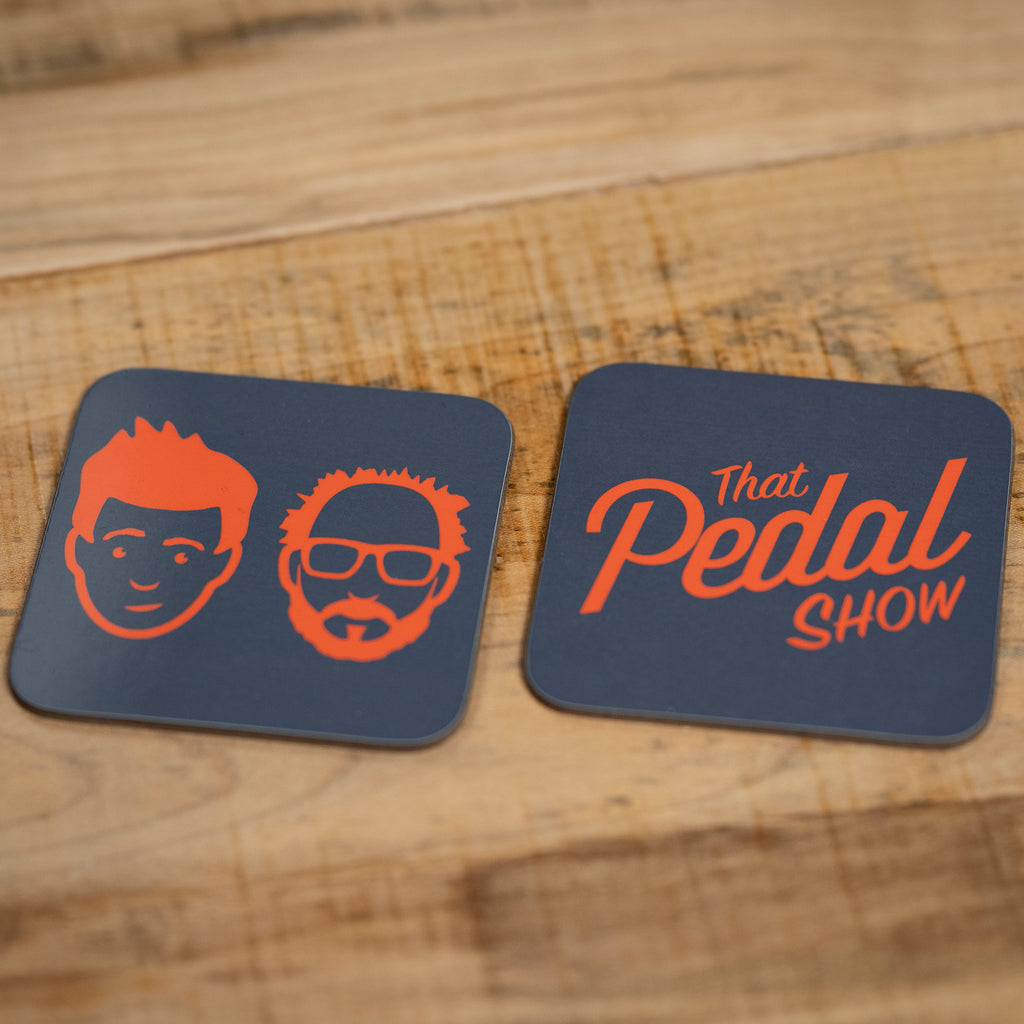 That Pedal Show Coasters - Two Pack