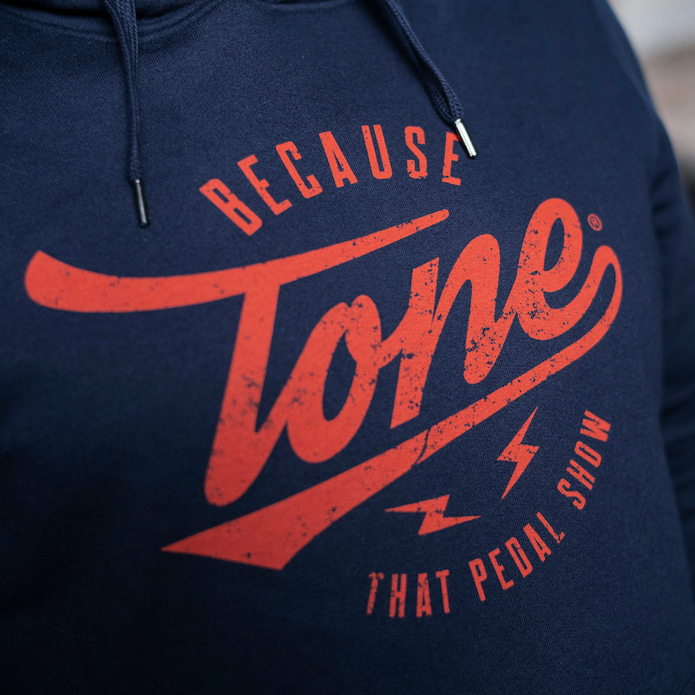 Because Tone® Pullover Hoodie - Navy Blue