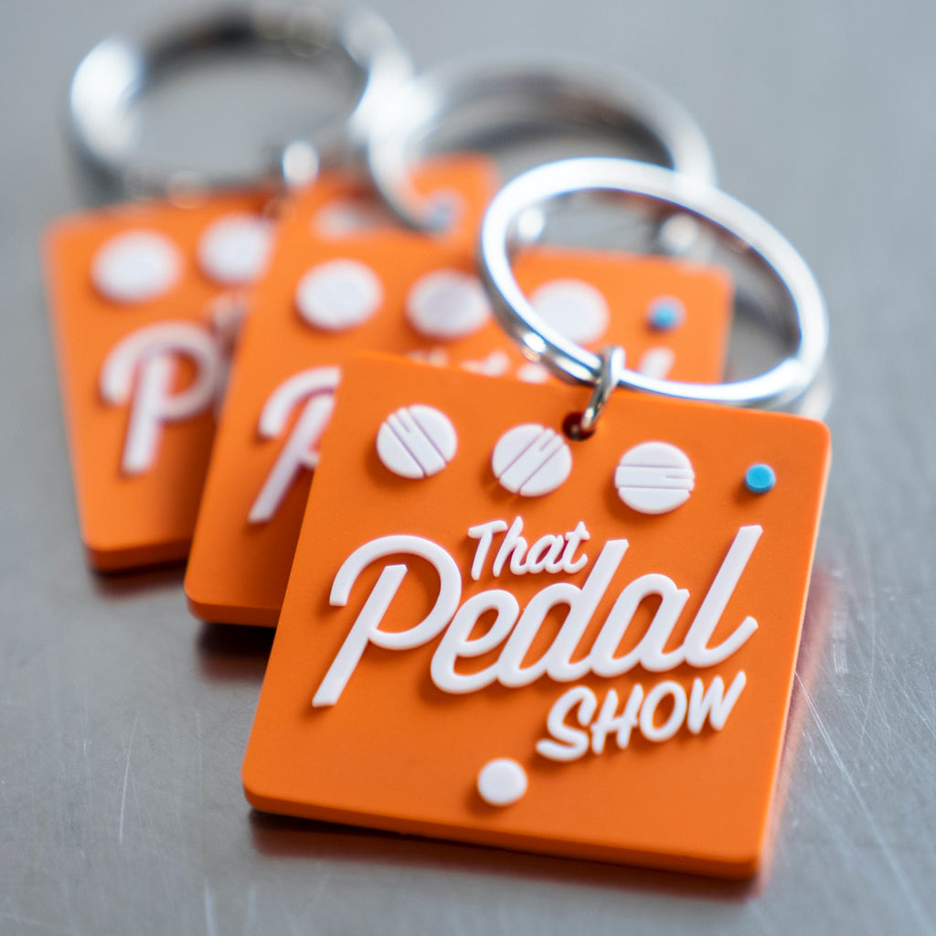 That Pedal Show 'Pedal' Key Ring