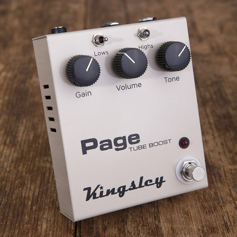 Kingsley Page Tube Boost V2 – 'That Pedal Show' Special Limited Edition - That Pedal Show Shop - 1