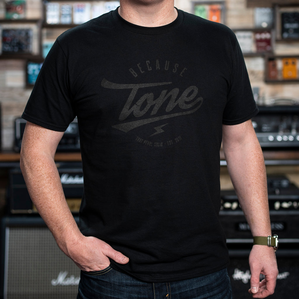 Because Tone® 'Stealth' Special Edition T Shirt - Black/Black