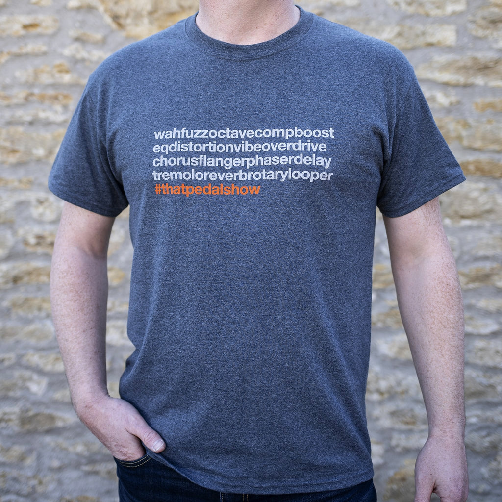 'StompioContinua' Special Edition T-Shirt - Dark Heather/Grey