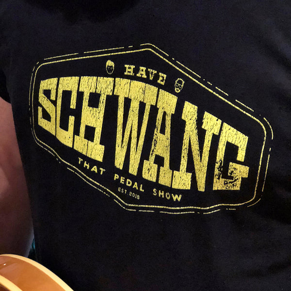 'Have Schwang' T-Shirt - Black/Yellow
