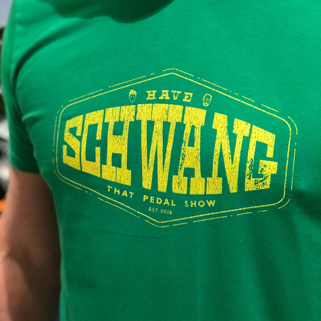 'Have Schwang' T-Shirt - TSGreen/Yellow
