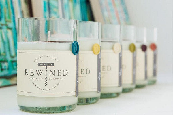 Rewined Blanc Collection Scented Candles