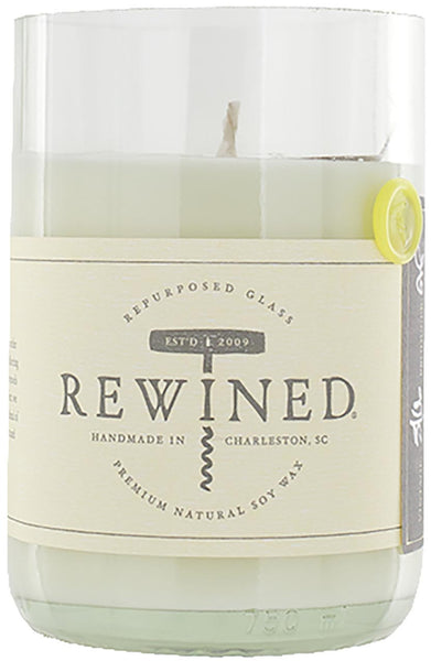 Rewined Soy Wax Scented Candle - Chenin Blanc :: Blanc Collection
