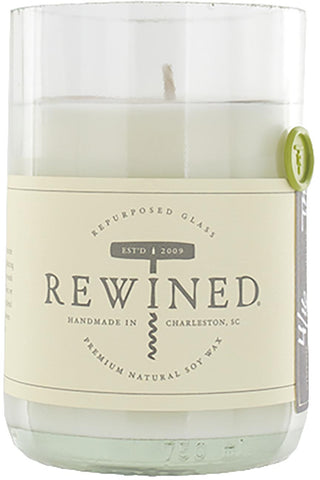 Rewined Soy Wax Scented Candle - Vinho Verde :: Blanc Collection