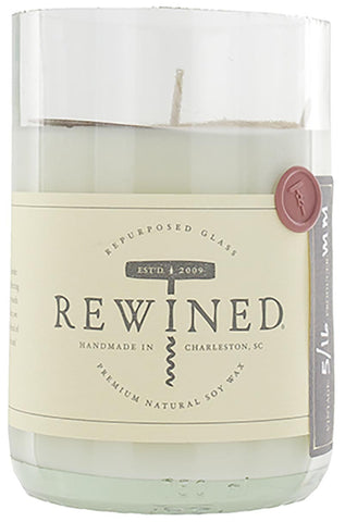 Rewined Soy Wax Scented Candle - Zinfandel :: Blanc Collection