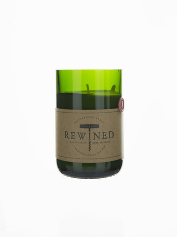 Rewined Soy Wax Candle - Merlot