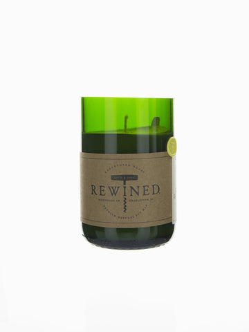 Rewined Soy Wax Candle - Pinot Grigio