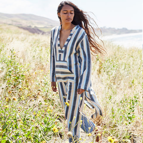 The Eden Caftan in Rainbow