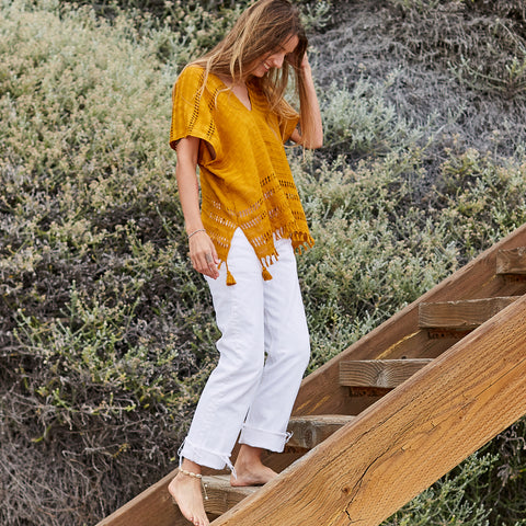 The Caftan Shorty in Oro