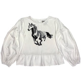 Painted Horse Jersey Top