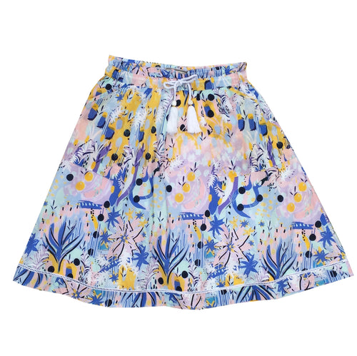 Premium Cotton Printed skirt
