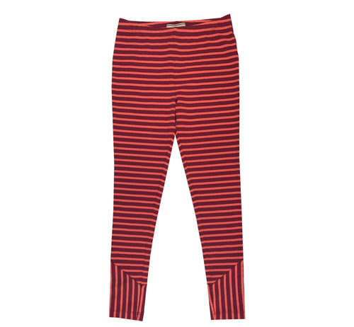 Red Striped Legging