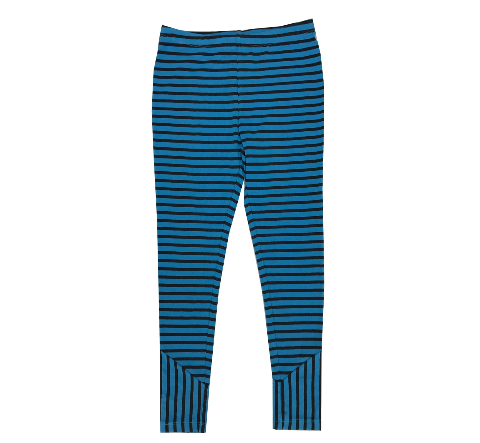 Blue Striped Legging