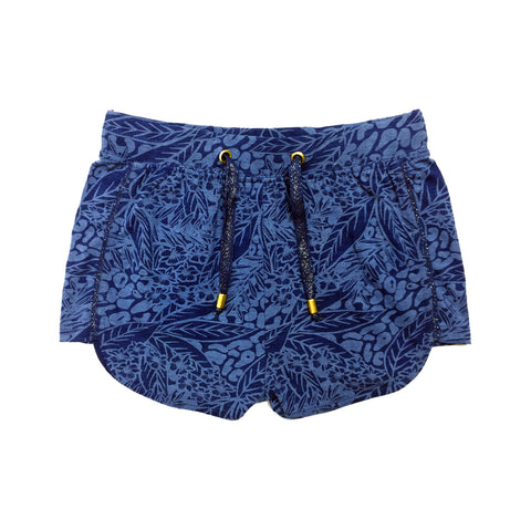 Indigo Cotton Short