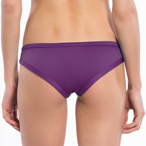 Solid Purple Collection Straight Lift Bikini Bottoms