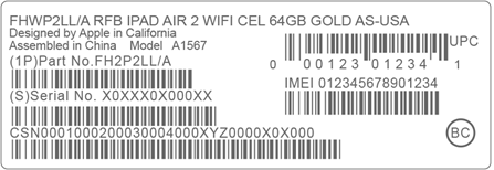 how to get your iPhone IMEI from barcode