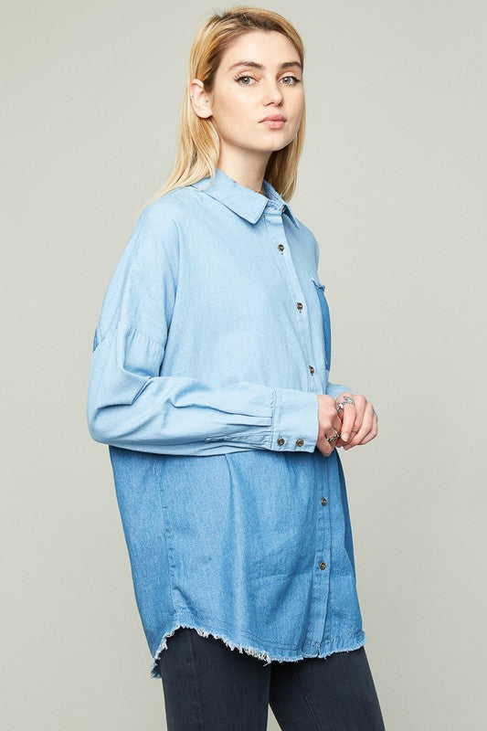 Baby Blue Chambray