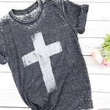 Inside and Out Cross Tee