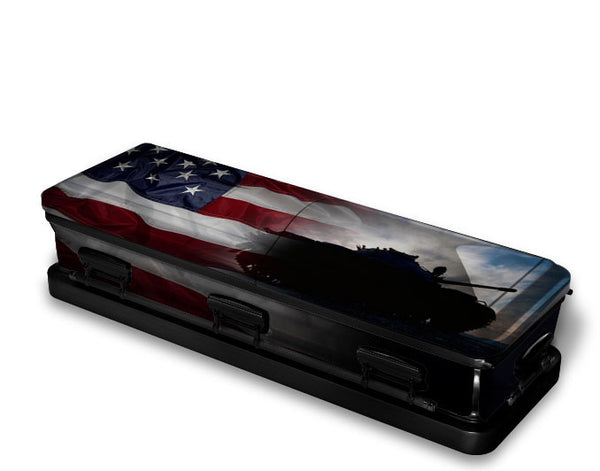 Army Soldier Military Casket Wrap