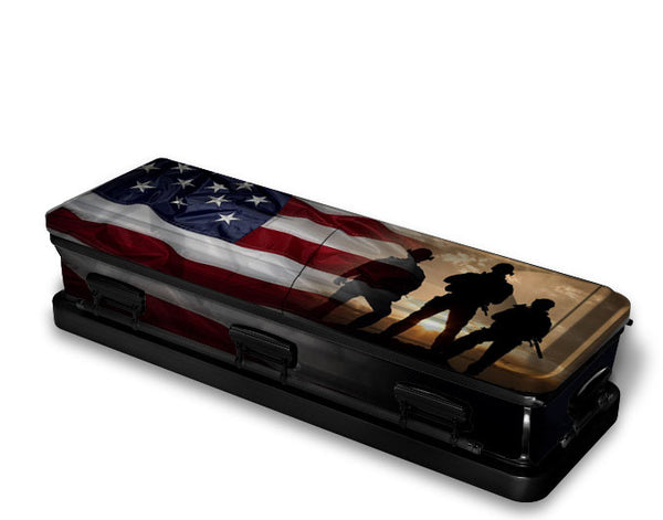 US Marine Corps Military Casket Wrap