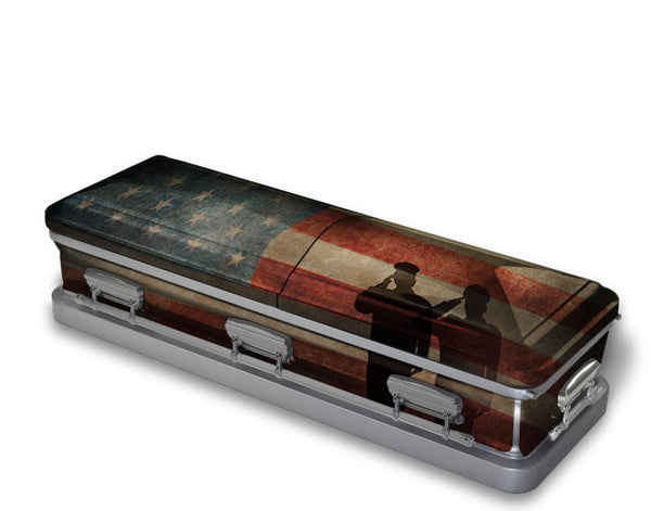 Final Salute Military Casket Wrap